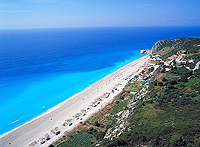 kathisma-beach in Lefkada